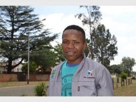 Clean City Coordinator Sivuyile Mpopi (22)