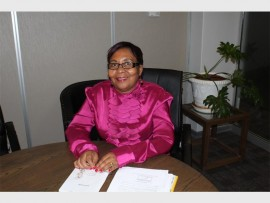 Clr Tiisetso Nketle, member of the mayoral committee (MMC) for water, sanitation and energy.