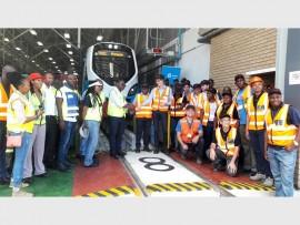 Gibela hands over the first X'Trapolis Mega train to Prasa. Gibela employees have been putting the train through a rigorous testing programme at Prasa's Wolmerton depot.