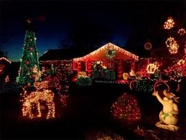 Beautifully decorated house. (Stock image).