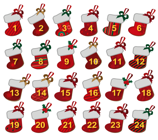 Create a Christmas countdown calendar | Springs Advertiser