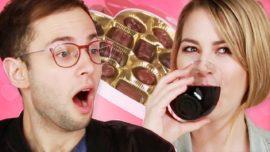 "Drunk singles talking ""Valentine's Day"" gifts"