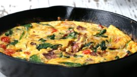 Try out this easy easy-breakfast-frittata