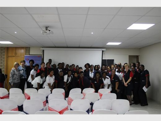 "8117695bfe9d Nurses celebrate International Nurses Day at Life Springs Parkland  Hospital. """
