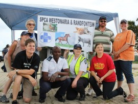 The other heroes in blue - the SPCA Randfontein and Westonaria. File photo.