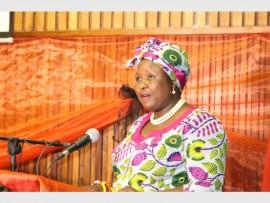 Westonaria Executive Mayor, Nonkoliso Tundzi took the NCOP, Gauteng Legislature members as well as local councillors on a tour of Westonaria municipal projects. File photo