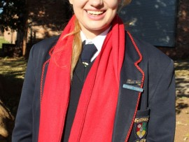 Bianca Botes, Graad 11 leerder by Randfontein Christian Academy.