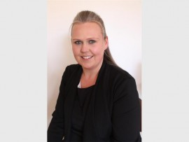 Social worker, Sandri Appelgryn.
