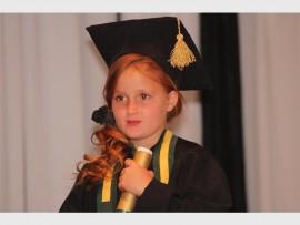 Micaela van Deventer gaan volgende jaar Graad 1 toe. Foto: Roxy de Villiers.