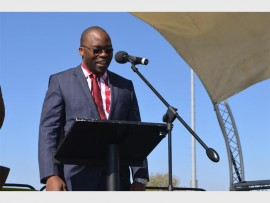 Minister of Justice and Correctional Services  Michael Masutha talking about the youth. Photo: Submitted.