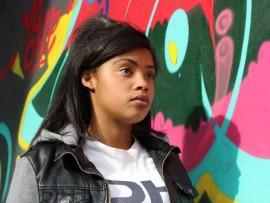 Amber Volmink, a local resident, said the graffiti under the Kenneth Road bridge is some of the best she's seen.