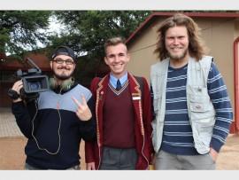 Brenton du Plessis, Brandon Viviers en Gert Steyn. Brenton en Gert is van Green Planet Productions.