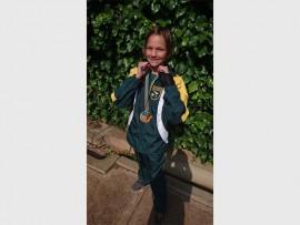 Jo-Ane Barnard van Laerskool Gerrit Maritz Primary. Foto ingestuur.