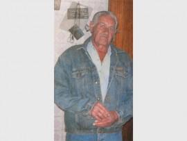 Willie Meyer, 78, is skielik aan 'n hartaanval oorlede.  Foto ingestuur.