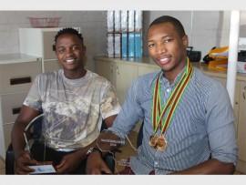 Tshepo Mofokeng and  Oliver Dickson.
