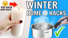 Winter Home Hacks Everyone Should Know