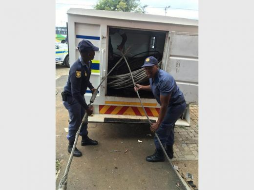 UPDATE: Scrapyard employee involved in R6m stolen cable bust