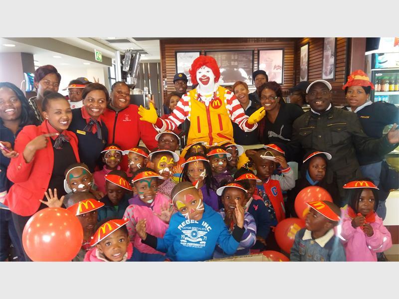 Fun day for kids with ronald mcdonald kempton express fun day for kids with ronald mcdonald voltagebd Gallery
