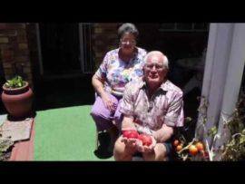 Bejaarde (85) spog met sy tamaties