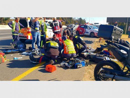 Motorbike rider dies after accident on N3 near Modderfontein