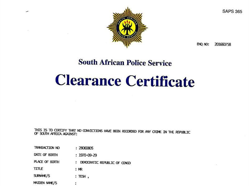 New process introduced to get a police clearance certificate new process introduced to get a police clearance certificate altavistaventures Gallery