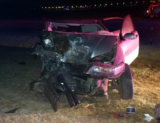 Two dead, four injured in three-car crash on R23 near