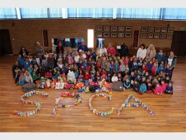 The children from Daeraad Pre-Primary School spent their 67 Minutes for Mandela helping the SPCA.