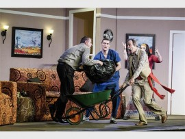 Don't miss My Boetie se Boetie se Boetie se Baba, at Carnival City's Mardi Gras Theatre.
