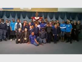 Members of the Primrose police and the Primrose Crime Prevention Youth Desk visited the Abundant Life Christian Academy, to teach the pupils about the effects of bullying.