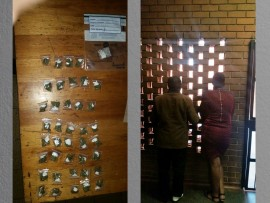The drugs confiscated and the couple arrested for possession of dagga on Thursday in Germiston.