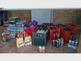 A range of alcoholic beverages were seized during a recent Primrose police operation. The operation saw three illegal taverns in the Makause informal settlement closed down.