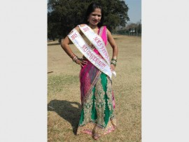 The sassy Nishana Sannydav recently competed in the Mrs India South Africa pageant and won the Miss Congeniality and Miss Fitness titles, as well as placing fourth overall in the event.