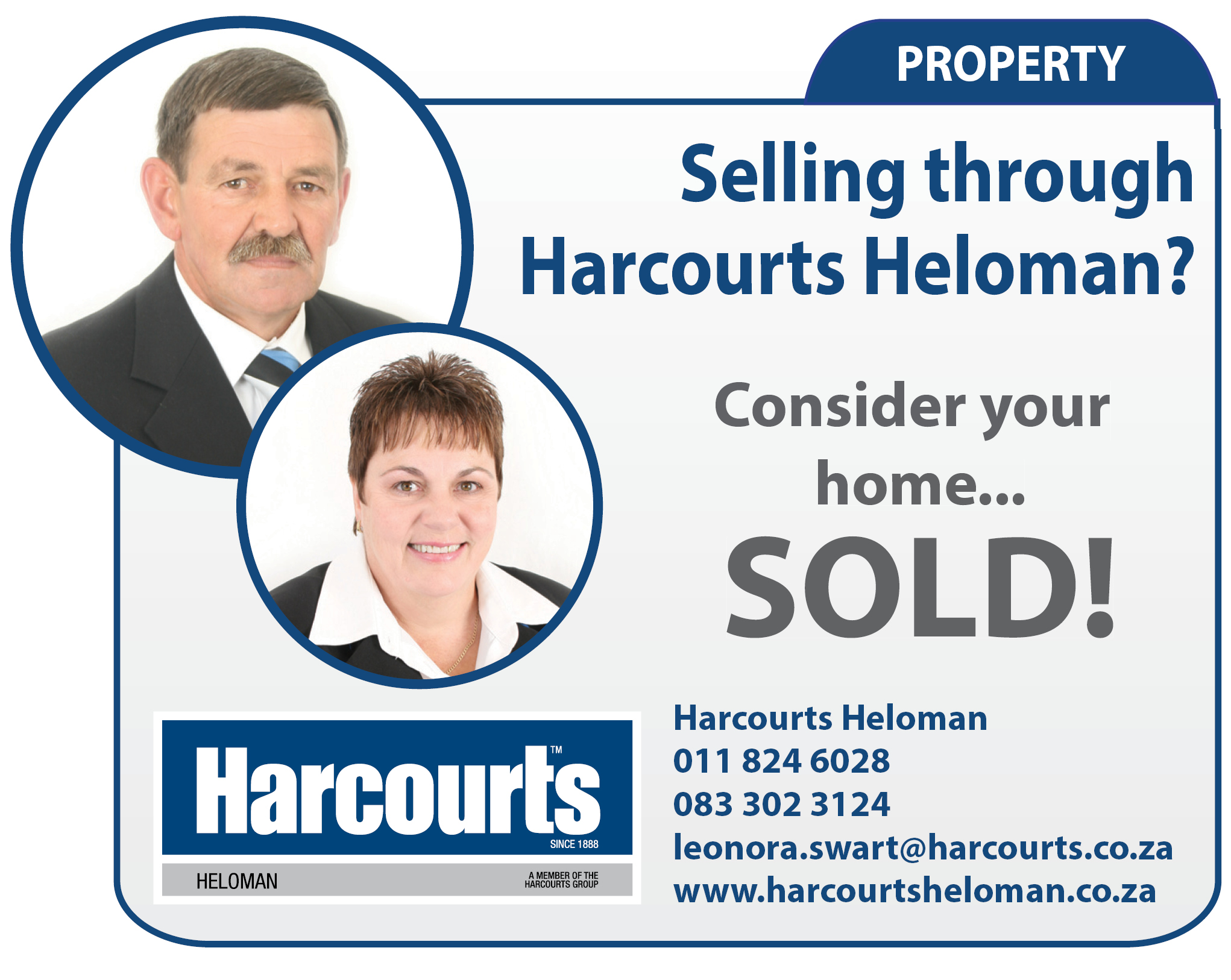 Harcourts Heloman Online Feature