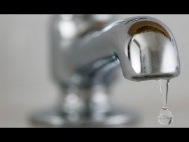 Water pressure will be low in certain areas.