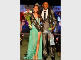 Mr and Miss Elsie 2016 are Lerice Lyle and Enrico Meyer. Photos by: CSP Photography.