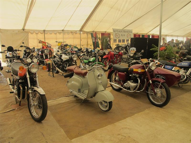 This photo, taken at last year's 1 000 Bike Show, is a good example of the spread of classic two- and three-wheelers one can expect to see on display at the 2016 edition of this popular show at Germiston High School on July 2 and 3.