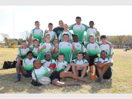 The Elsburg Eagles Rugby Club's u-12 team may not have won their match against Brakpan East Rugby Club on Saturday but they were thrilled to have played the match. The match was the team's first friendly home match of the season.
