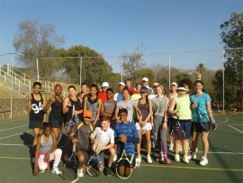 Children and coaches enjoyed the recent Tennis Invitational Tournament held in Edenvale.