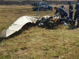 A man has been killed in a microlight accident. Photo: ER24