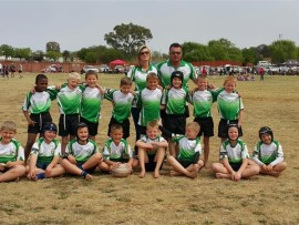The Elsburg Eagles Rugby Club took part in the Kempton Park junior rugby day.