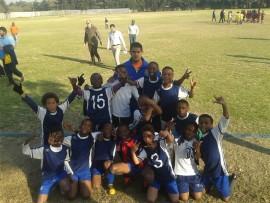 The Primrose Hill Primary u-11 football team.