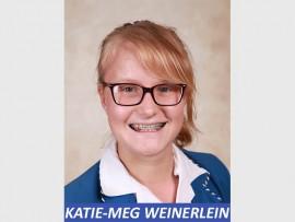 Katie-Meg Weinerlein, a Grade 10 pupil from Assumption Convent School.