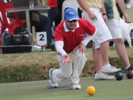 Bowlers showcase their skills at the tournament.
