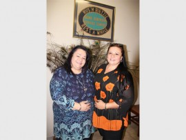 Trudy Carreira (right) was recently appointed as the new manager of Rest-a-While Service Centre for the Aged. She and her new admin assistant Carol-Ann Joubert strive to make the lives of every elderly person who walks through their doors better.