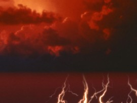 Severe thunderstorms predicted for parts of the province. File image.