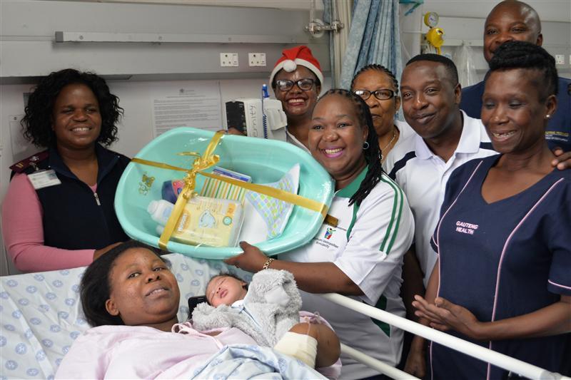 Four Christmas babies for Bertha Gxowa Hospital ...