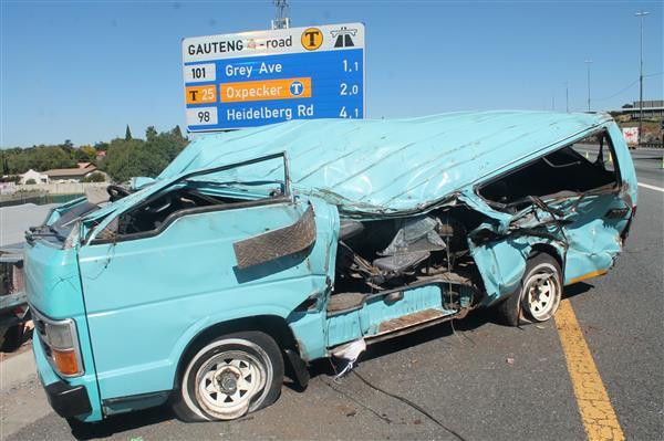 Breaking News: Sixteen injured in N3 accident | Germiston City News