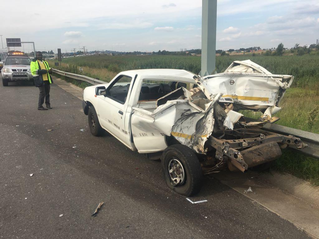Three dead, five injured in N3 highway collision in Germiston