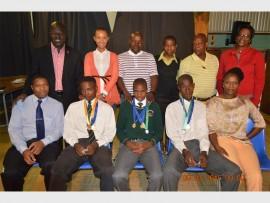 Seen here (back) are: Mthembu Mandlenkosi ,Ndimande Nombuso, Mabena Sizwe, Tshisela Malefyane, Karabo Tshetlo and Katemaneeng Hlatshawato. In front are Themba Maphalala,Themba Dlamini, Gule Zweli, Thato Ramotshega and Tshidi Kope.
