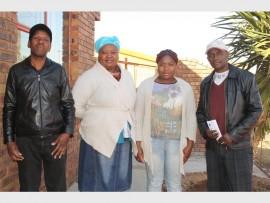 Ignatius Mandla Phakathi, Nokuthula Mazibuko, Mangetane Ramakgatle and Mzukisi Gideon Gxego say their newly formed organisation will help the residents of White City section.